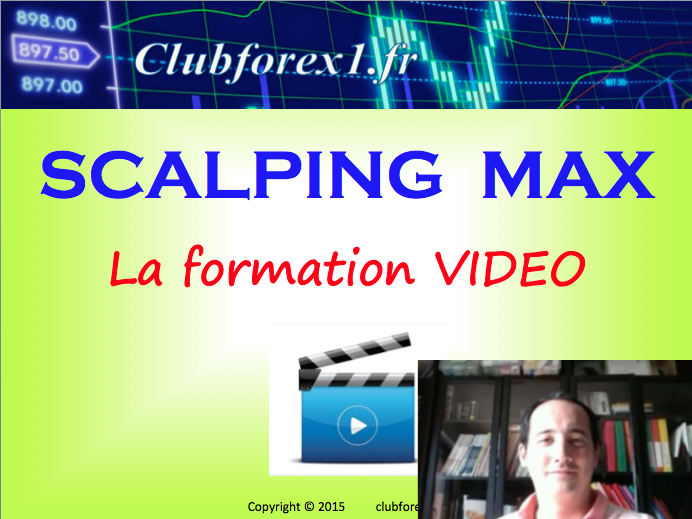 Scalping MAX, exemple de trade